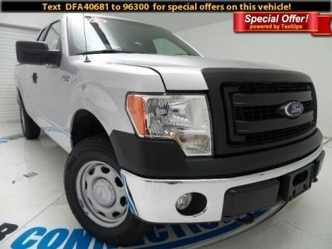 2013 Ford F-150 4WD SUPERCAB FOUR WHEEL DRIVE truck