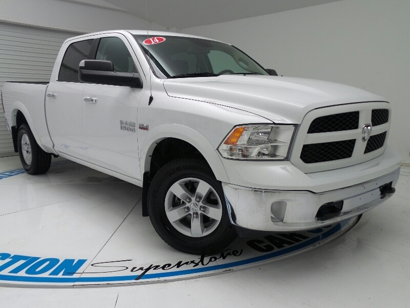 Used Ram 1500 4WD CREW CAB  OUTDOORSMAN